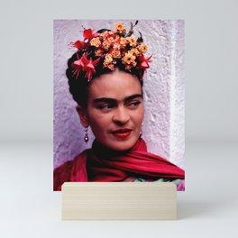 Frida in color Mini Art Print