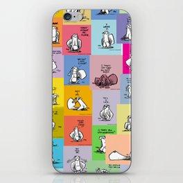 collage of bob iPhone Skin