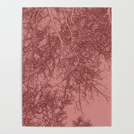 Branches two Yoga mat Poster