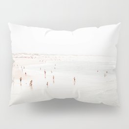 At the Beach (two) Pillow Sham
