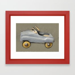 Antique Pedal Car Framed Art Print