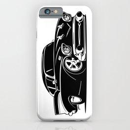 Classic American Hot Rod Cartoon iPhone Case