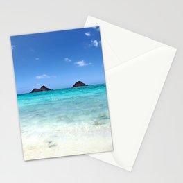 Summer at Lanikai Beach Stationery Cards