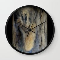 mermaids Wall Clocks featuring mermaids by Imagery by dianna
