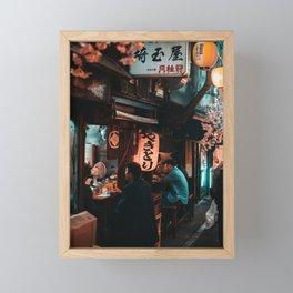 Tokyo Nights. Framed Mini Art Print