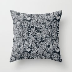 HiHiHoHoHaHa Throw Pillow