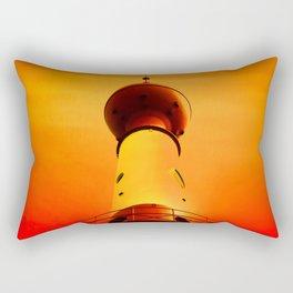 Lighthouse romance Rectangular Pillow