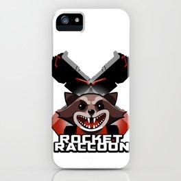 Rocket Raccoon iPhone Case