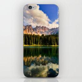 Alpine lake iPhone Skin