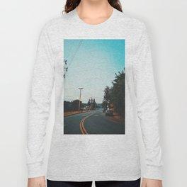 Suburbs Of Eugene, Oregon Long Sleeve T-shirt