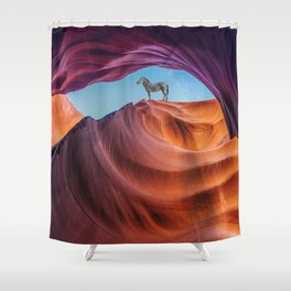 expectations. Shower Curtain