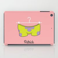 patrick iPad Cases featuring Patrick by Jane Mathieu
