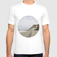 Afternoon | Taipe - Brazil White MEDIUM Mens Fitted Tee