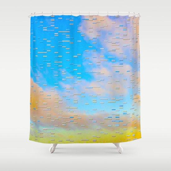 Blip Shower Curtain