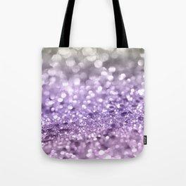 Purple Lavender Glitter #1 #shiny #decor #art #society6 Tote Bag