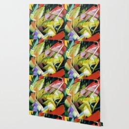 """Franz Marc """"Mountain goats"""" Wallpaper"""