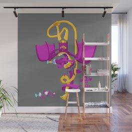 Flame Sauce SuperBat Wall Mural