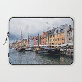 Nyhavn waterfront in Copenhagen Laptop Sleeve