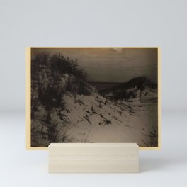 Doris Ulmann  (1882–1934), Sag Harbor, Long Island. Sand dunes with ocean in background Mini Art Print