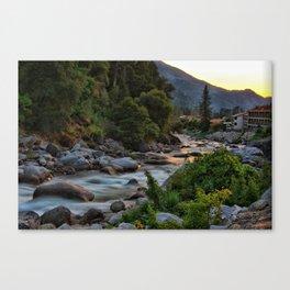 Rushing River Canvas Print