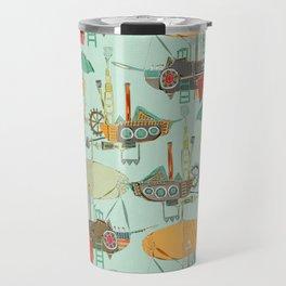 steampunk sky Travel Mug
