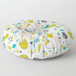 Cocktail Hour Floor Pillow