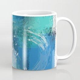 Abstract Blue Azur Coffee Mug