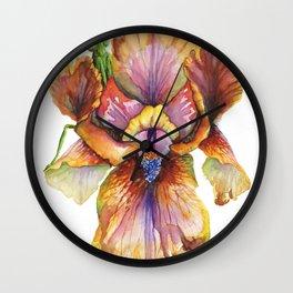 Lord of the Iris Kingdom Wall Clock