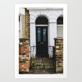 Bowie's Childhood Home Art Print