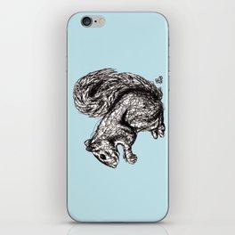 Blue Woodland Creatures - Squirrel iPhone Skin