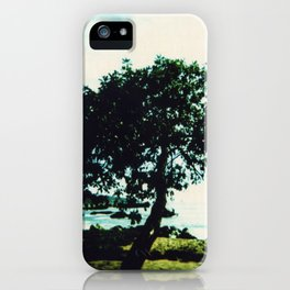 Lonely Tree iPhone Case