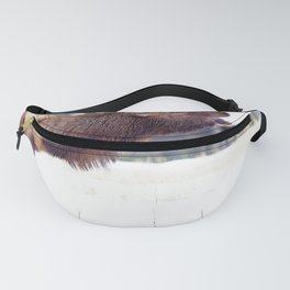 Watercolor Elk Bull 30 Fanny Pack