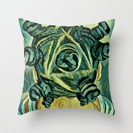 Chiney Bump Throw Pillow