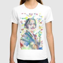 SALVADOR DALI - watercolor portrait.2 T-shirt