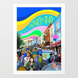 Portobello Road Art Print