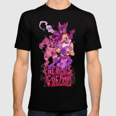 Five Nights at Freddy's Mens Fitted Tee Black MEDIUM