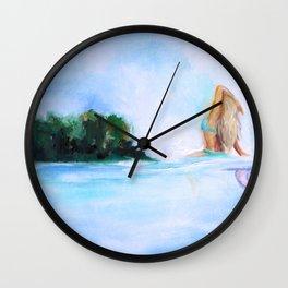 Dreaming Of Nicaragua Wall Clock