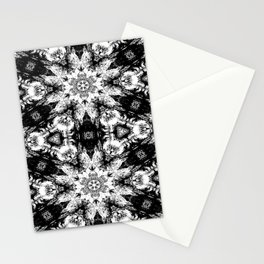 Rorschach Test Pattern Stationery Cards