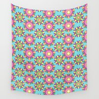 blossom Wall Tapestries featuring Blossom by Shelly Bremmer