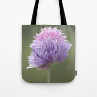 clover Tote Bags featuring Clover by Fran Walding