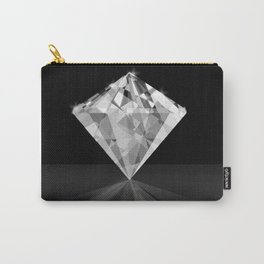 Shiny Diamond Gem Stone with a Sparkle of Light Carry-All Pouch