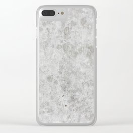 Stone Texture Surface 46 Clear iPhone Case