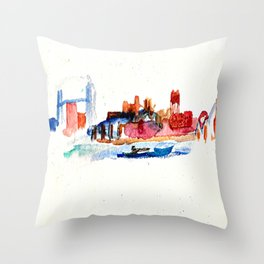 Zenith City Throw Pillow