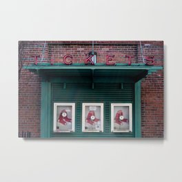 Tickets, Boston Metal Print