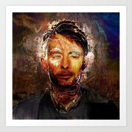 The Portrait Eraser (Thom Yorke) Art Print