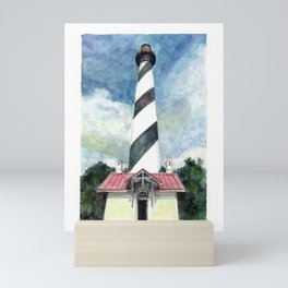 St. Augustine Lighthouse Mini Art Print