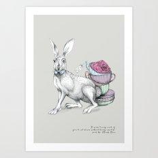 Tea with Hatter Art Print