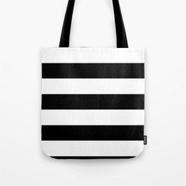 Black Stripes | Digital Design | Pattern Tote Bag