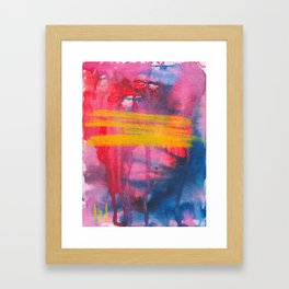 Color Play Framed Art Print