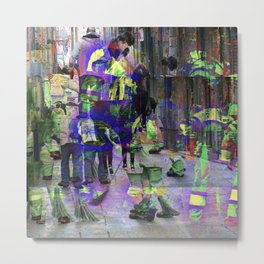 exceptionalism reiterated to the point of normalcy Metal Print